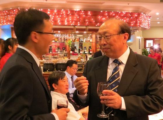 趙偉校長勉勵新一屆研究生會成員