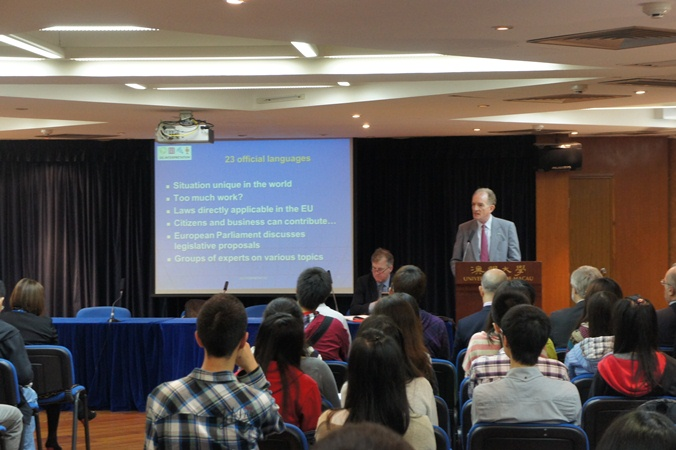 Dr. Marco Benedetti, European Union director - general for interpretation of the European Commission, is the speaker
