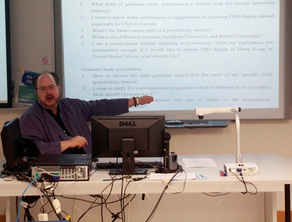 Prof Rik Carl D'Amato shares tips for postgraduate application