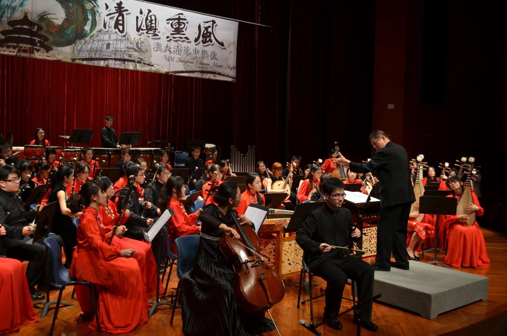 古韻飄香、氣勢恢弘的民族管弦樂合奏