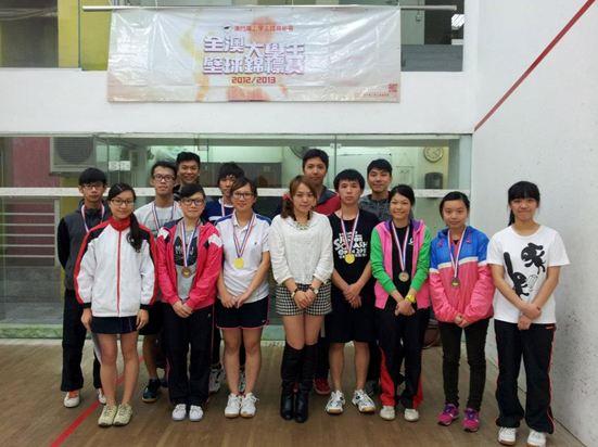 UM's Squash Team