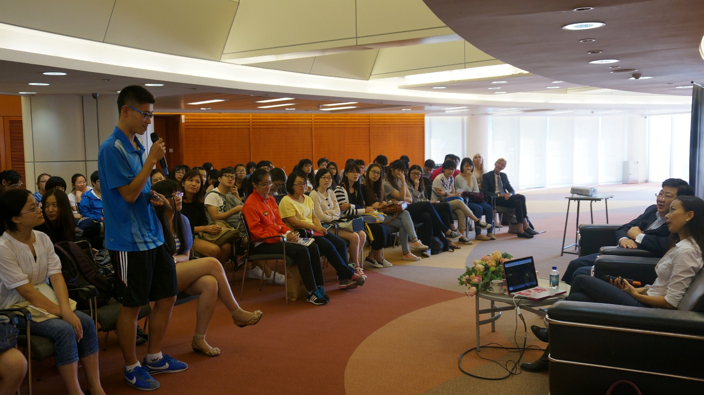 Faye Leung encourages UM students to chase their dreams