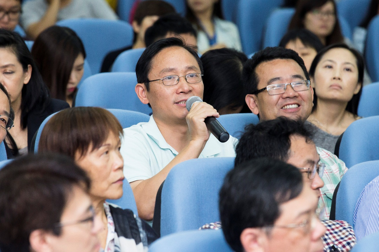Participants offer suggestions on university affairs