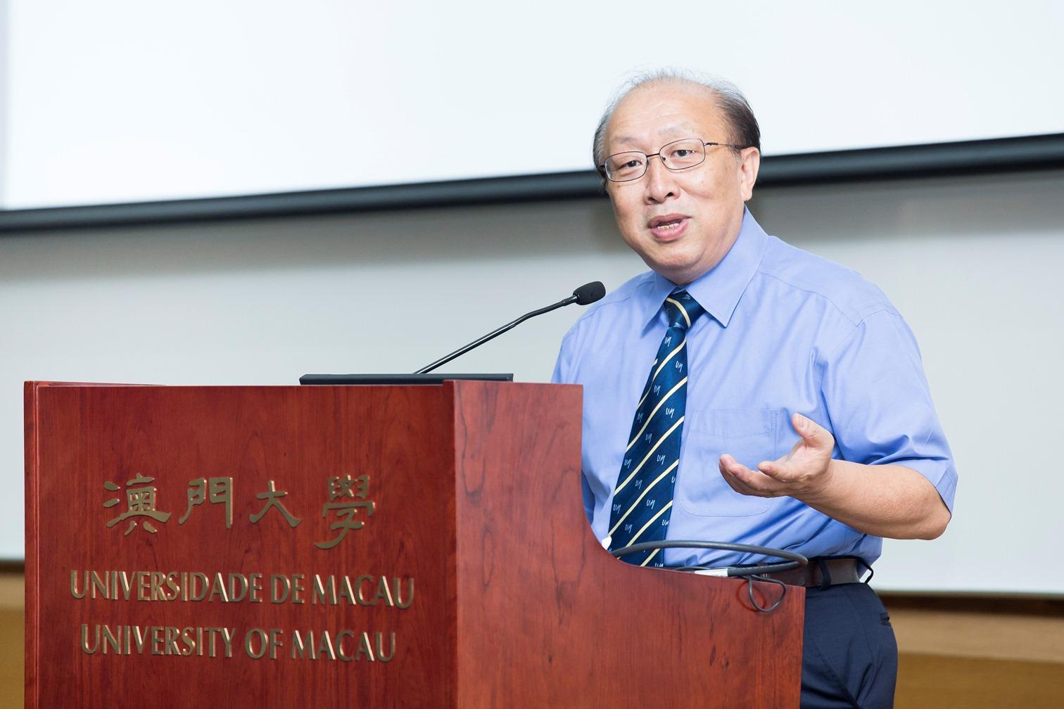UM Rector Wei Zhao