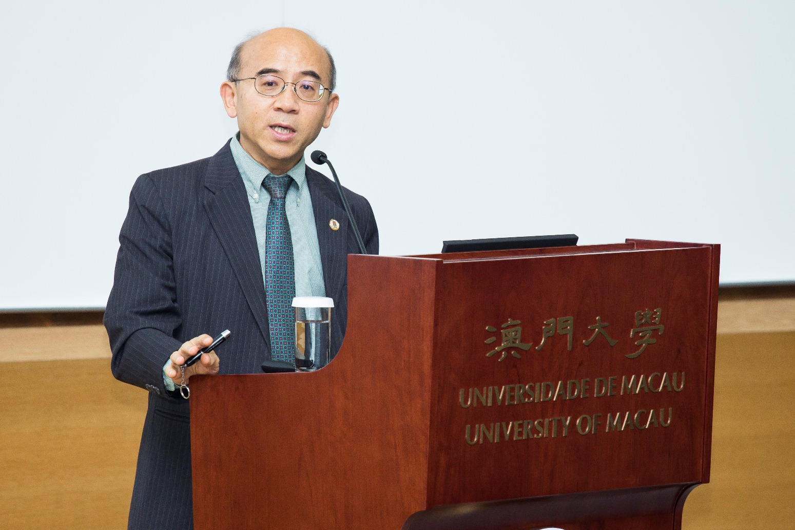 UM Interim Vice Rector (Academic Affairs) Fan Xitao