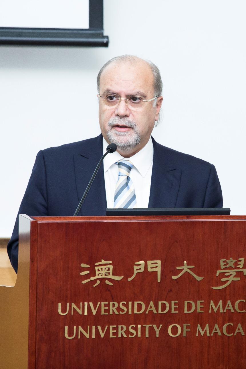 UM Vice Rector (Research) Rui Martins