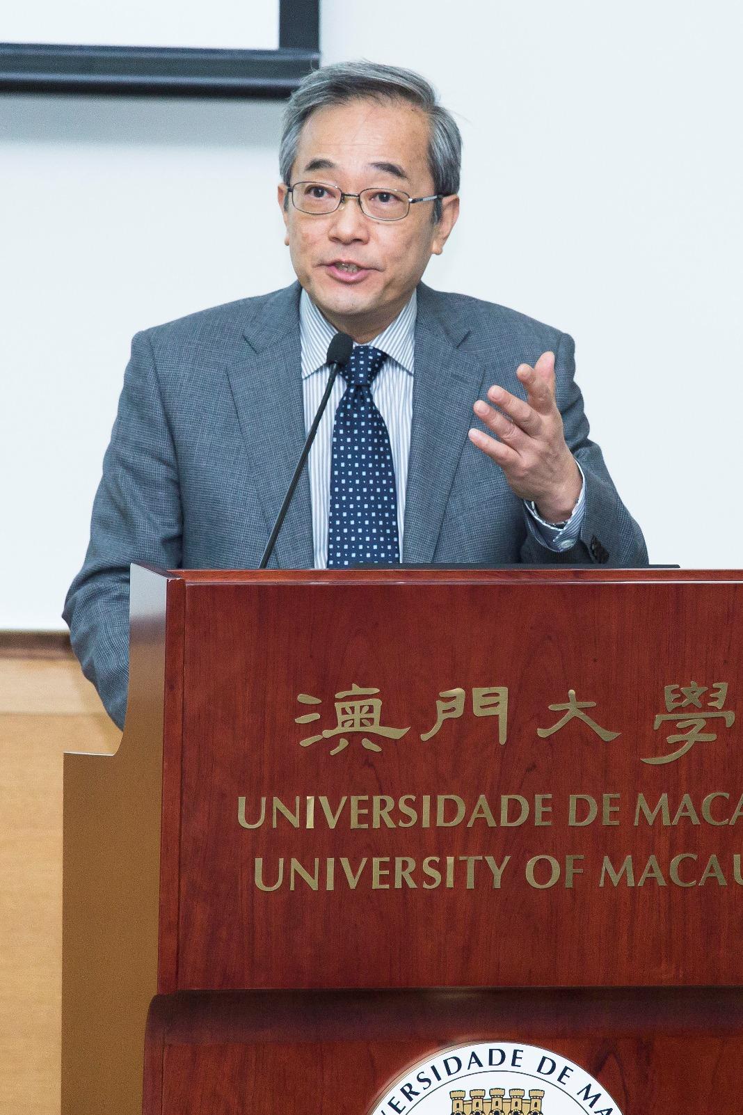 UM Vice Rector (Student Affairs) Haydn Chen