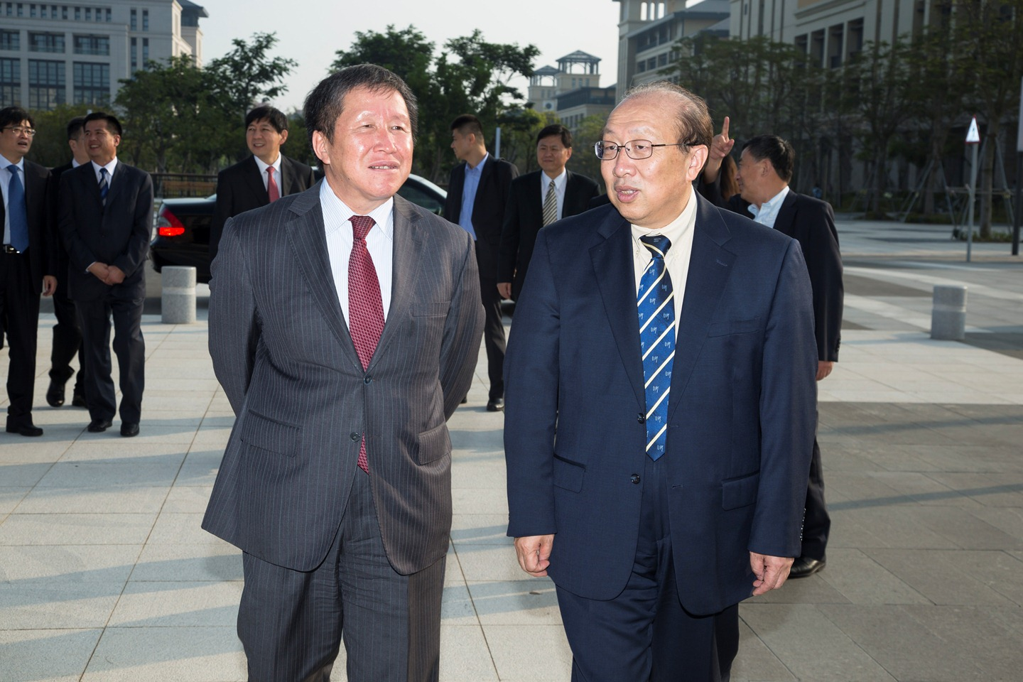 Ministry of Science and Technology Deputy Director Cao Jianlin visits UM