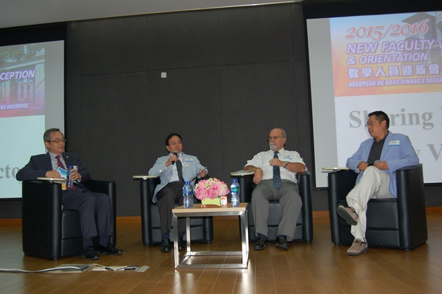 Four vice rectors share their experiences working and living in Macao and on UM's campus