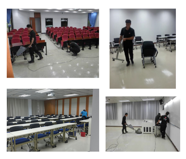 A thorough cleaning of UM's classrooms