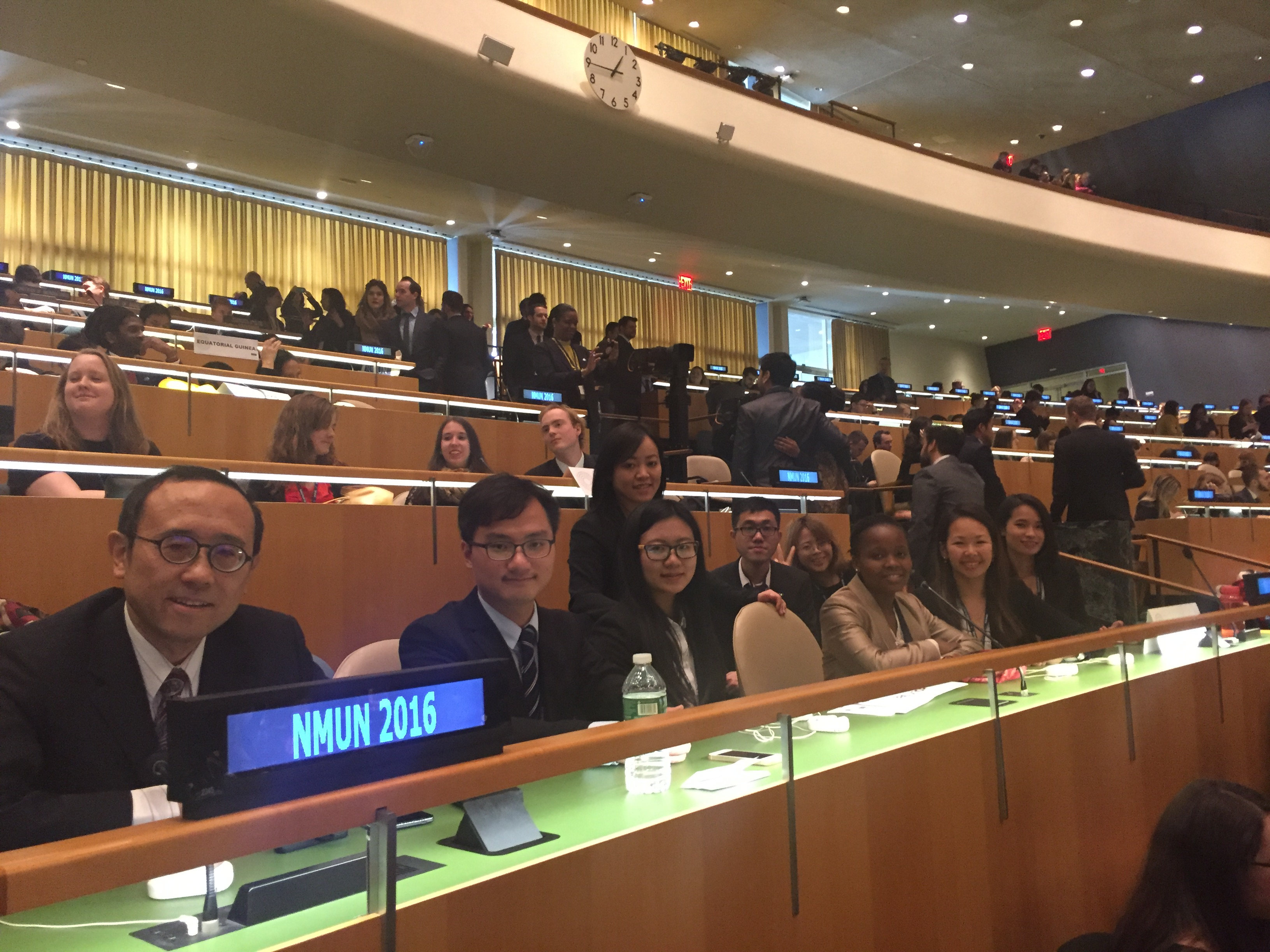 UM students participate in the National Model United Nations 2016