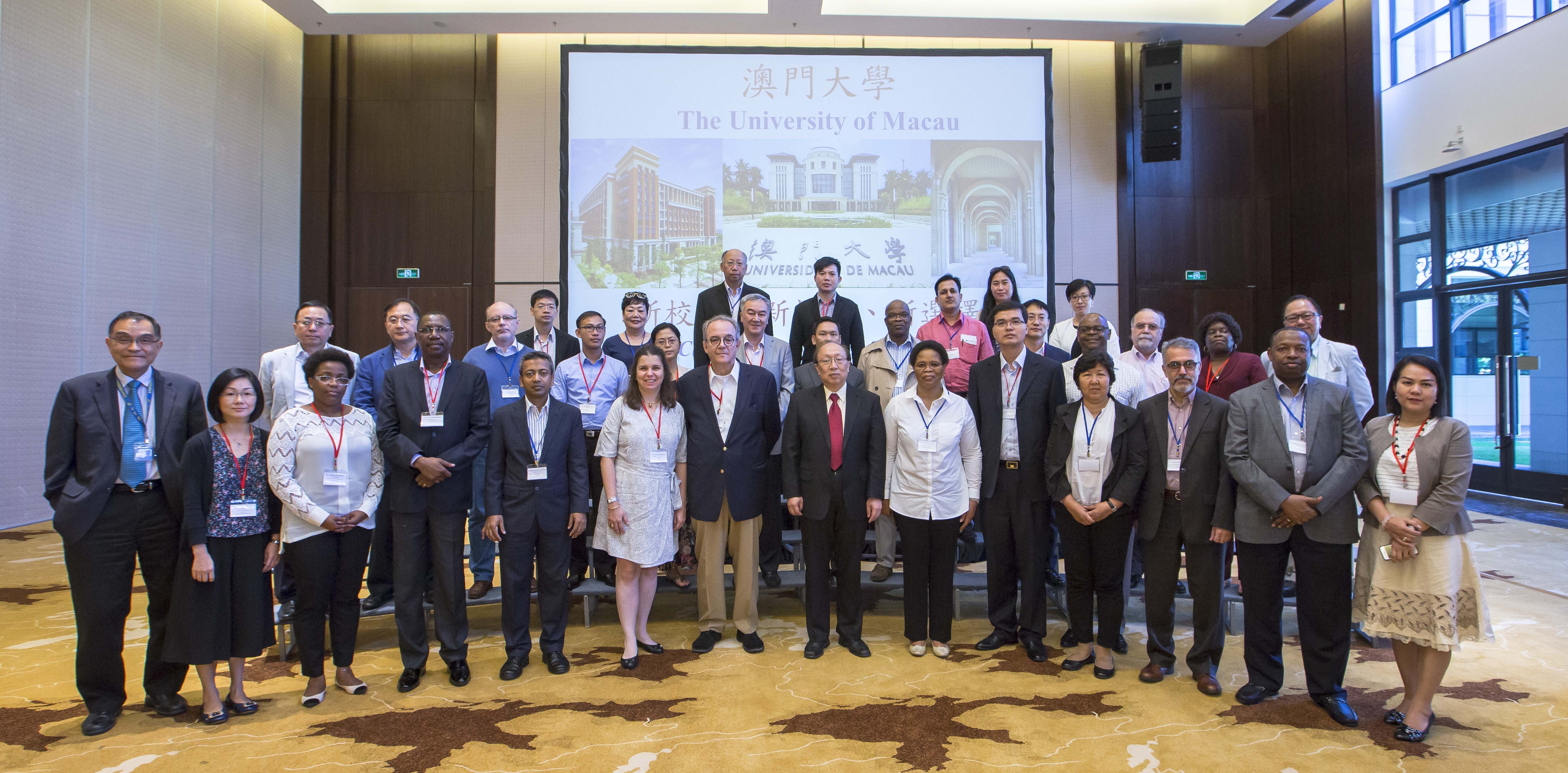 Consul generals of 21 countries to Hong Kong and Macao visit UM