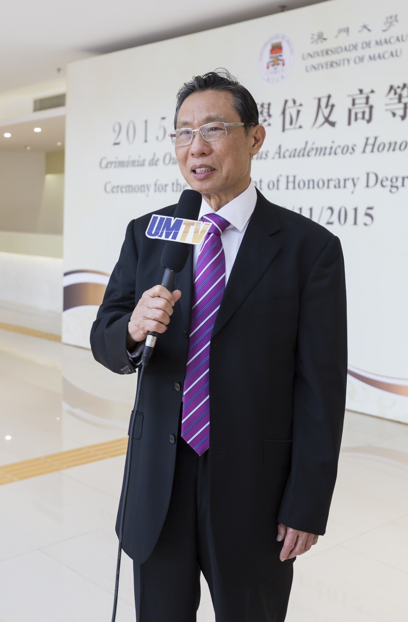 Prof Zhong Nanshan hopes to collaborate with UM in cancer research