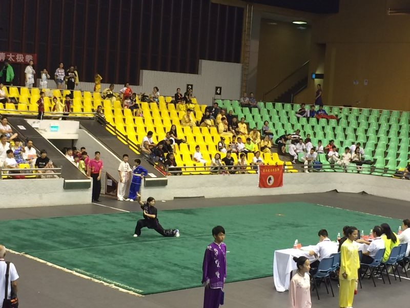 At the competition