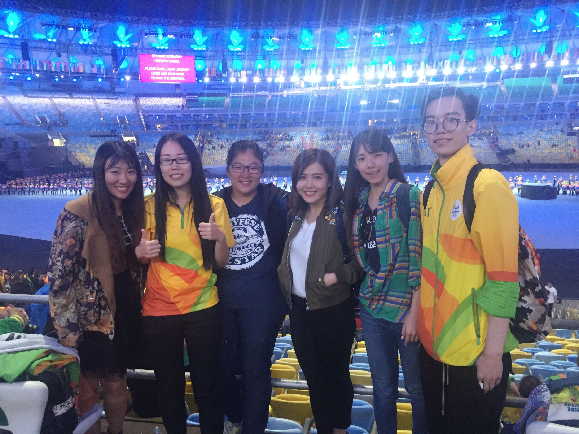 UM students worked as volunteers for the Rio Olympics