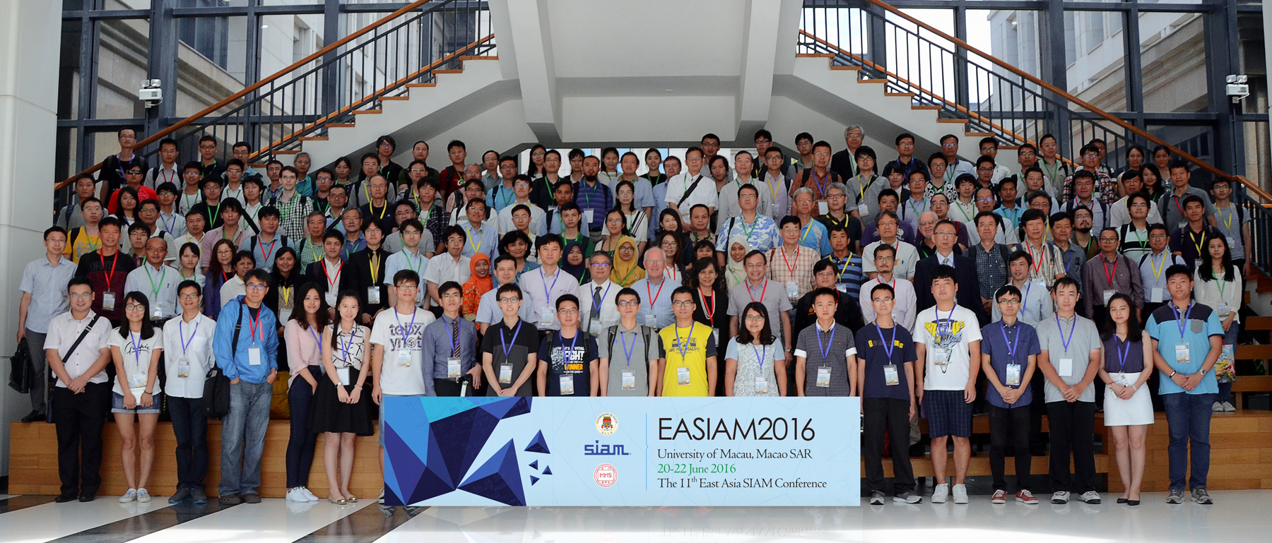 Prof Jin Xiaoqing has been elected president of the East Asia Section of Society for Industrial and Applied Mathematics