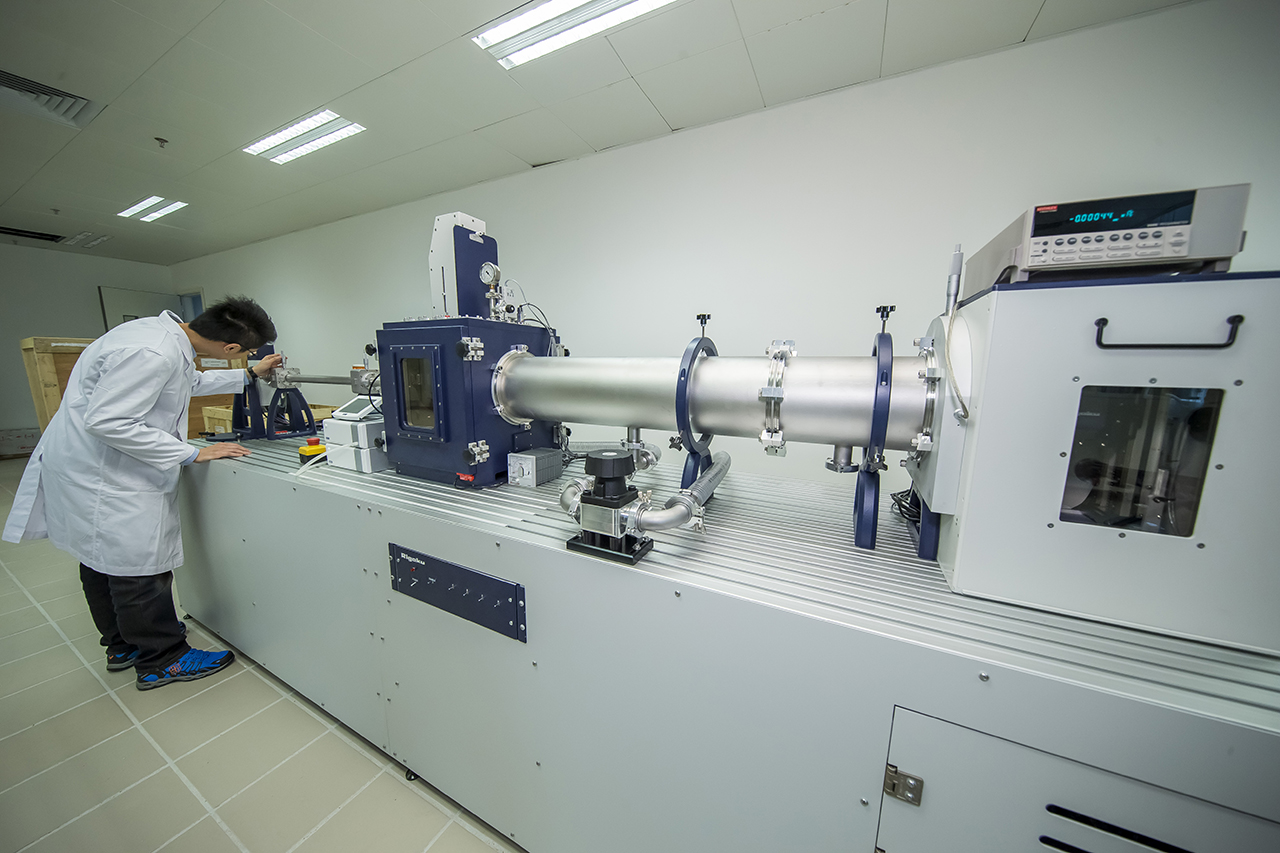 A small-angle x-ray scattering system