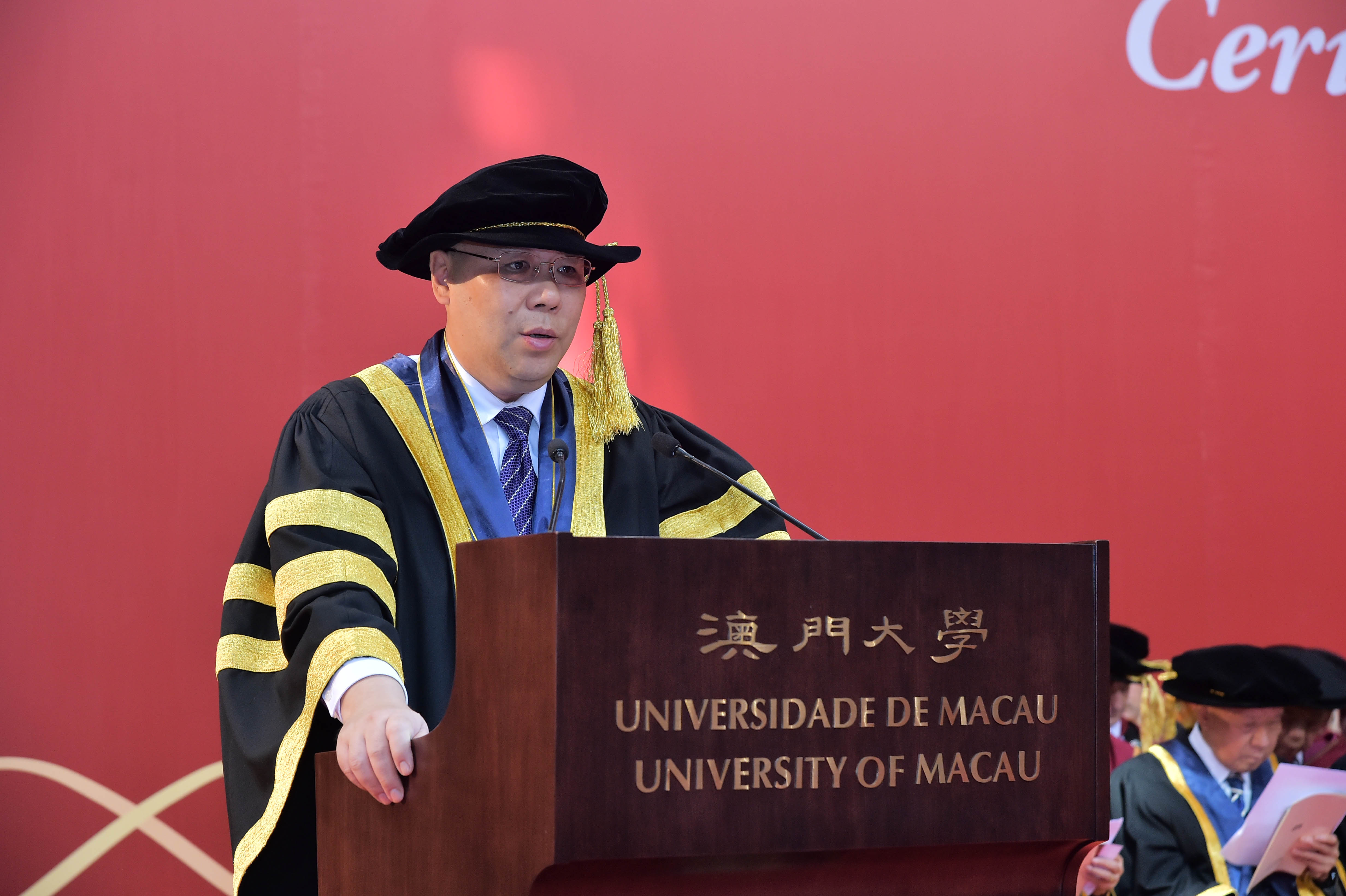 Chui Sai On praises UM for its effort to improve teaching quality
