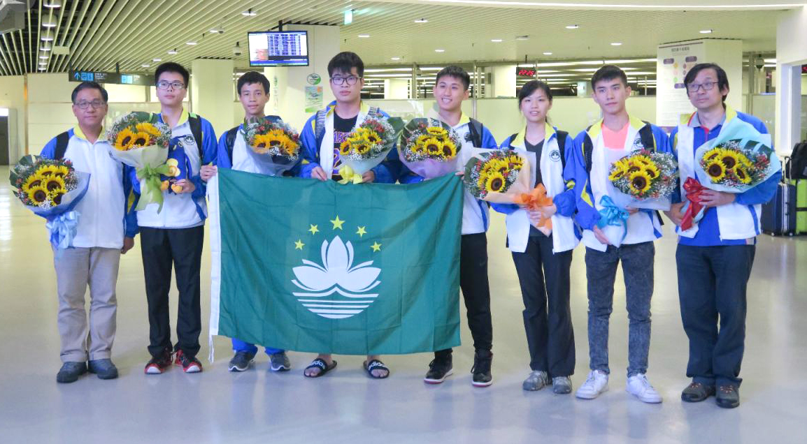 The Macao team, led by UM scholars, has won a gold medal and five merit awards at the International Mathematical Olympiad