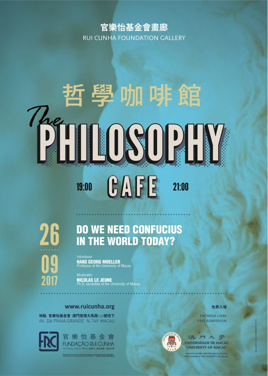 The Philosophy Café returns to UM, with the first session on Confucius.