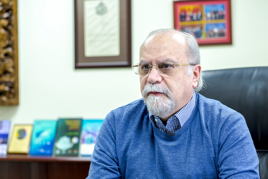 Prof Rui Martins is bullish about UM's prospects in scientific research