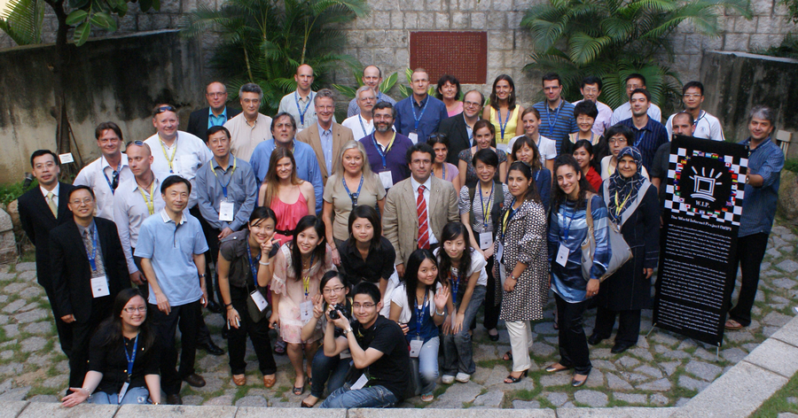 The 2009 annual conference for the World Internet Project, organised by Dr Cheong, was held at UM old campus