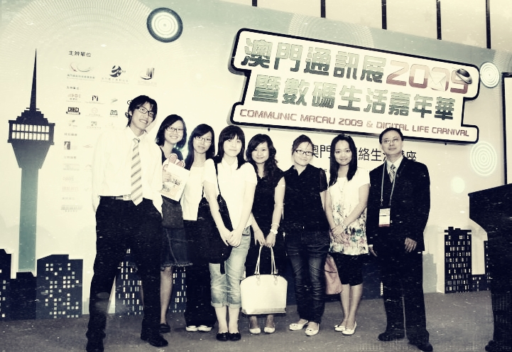 Dr Cheong's team is mostly made up of graduates from UM's Department of Communication