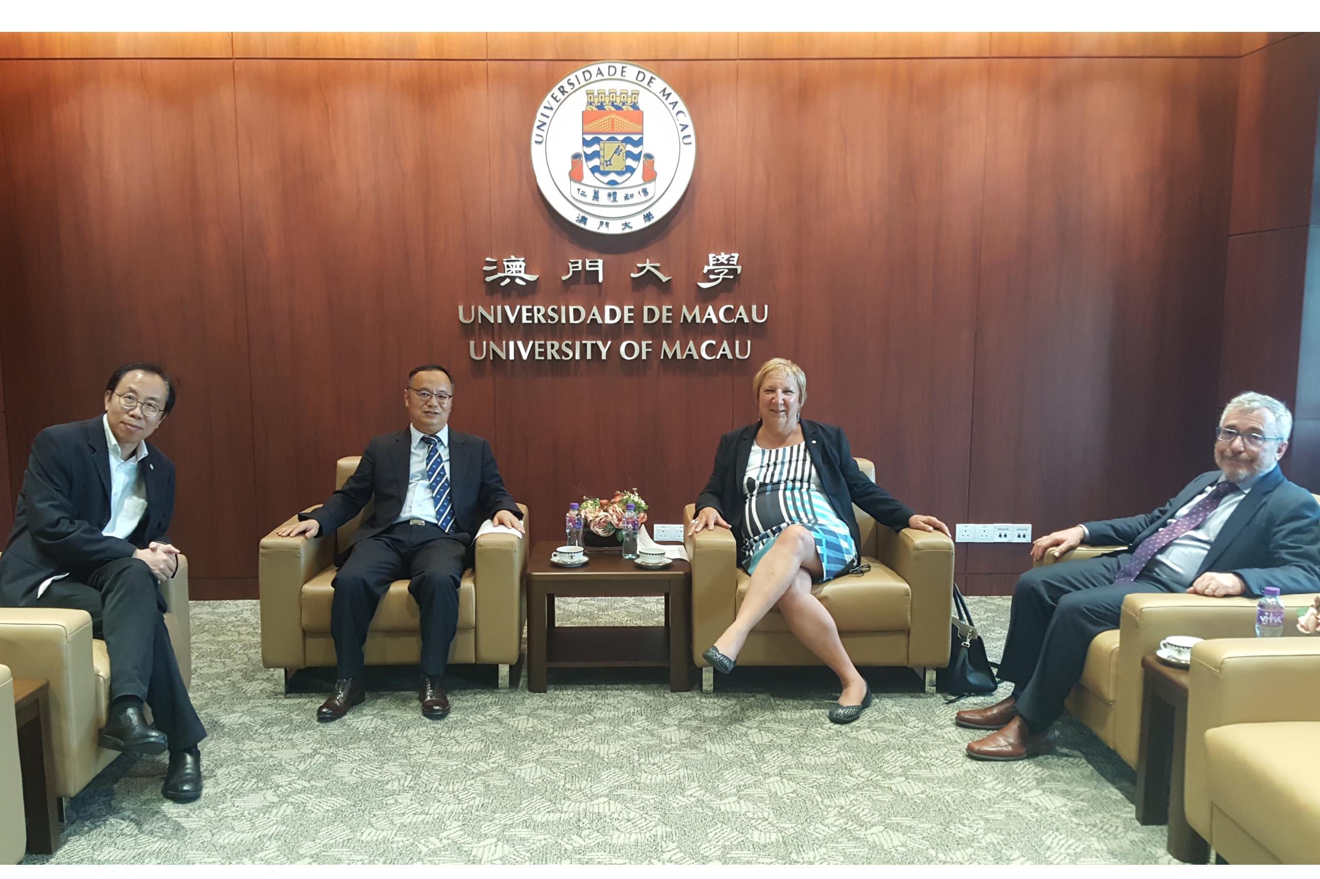 麥基爾大學代表團訪問澳大