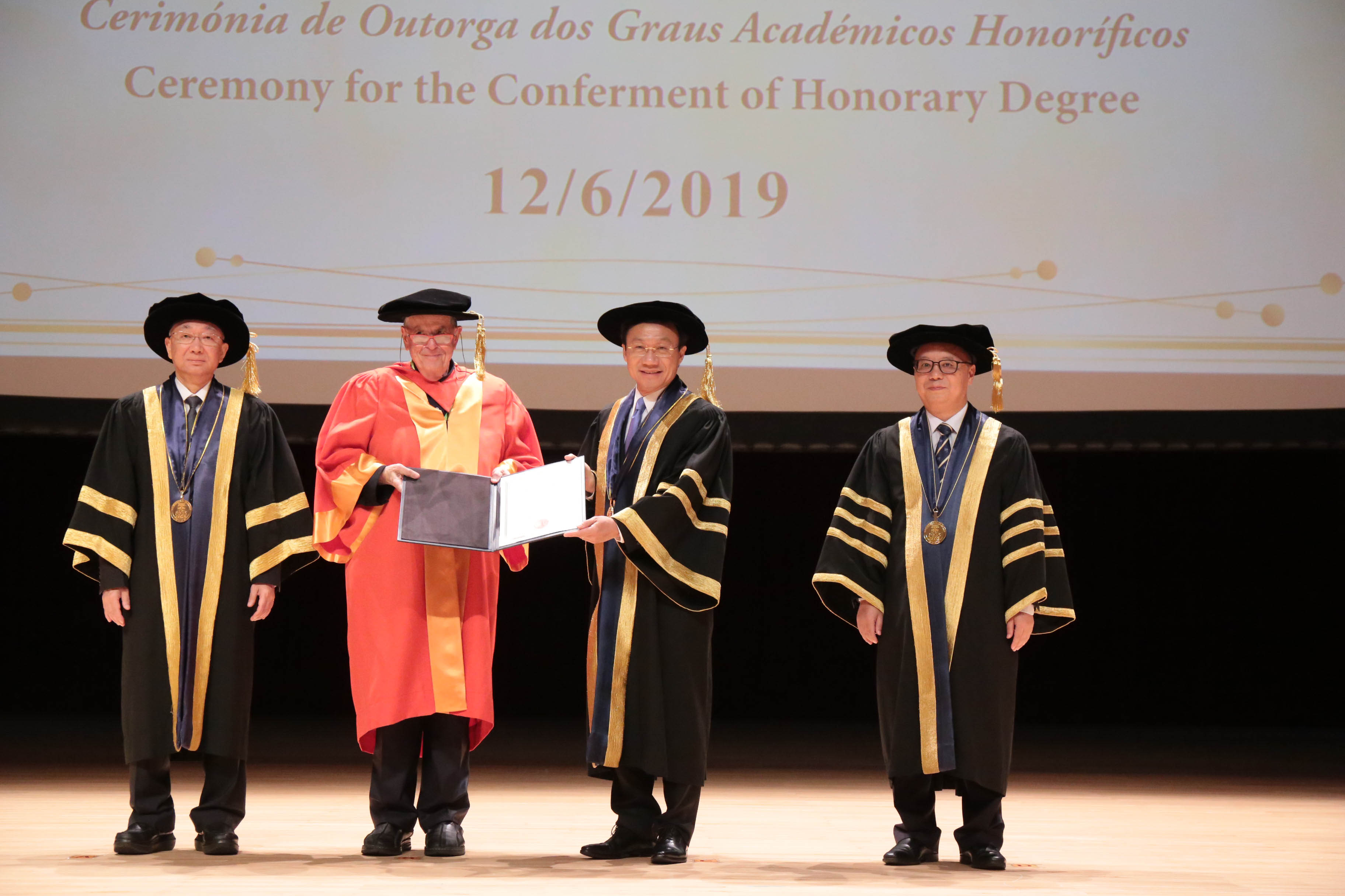 UM confers a honorary doctorate on Prof Aaron Ciechanover