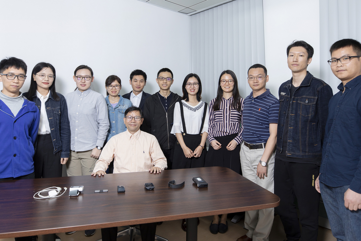 The research group led by Prof Douglas Zhang