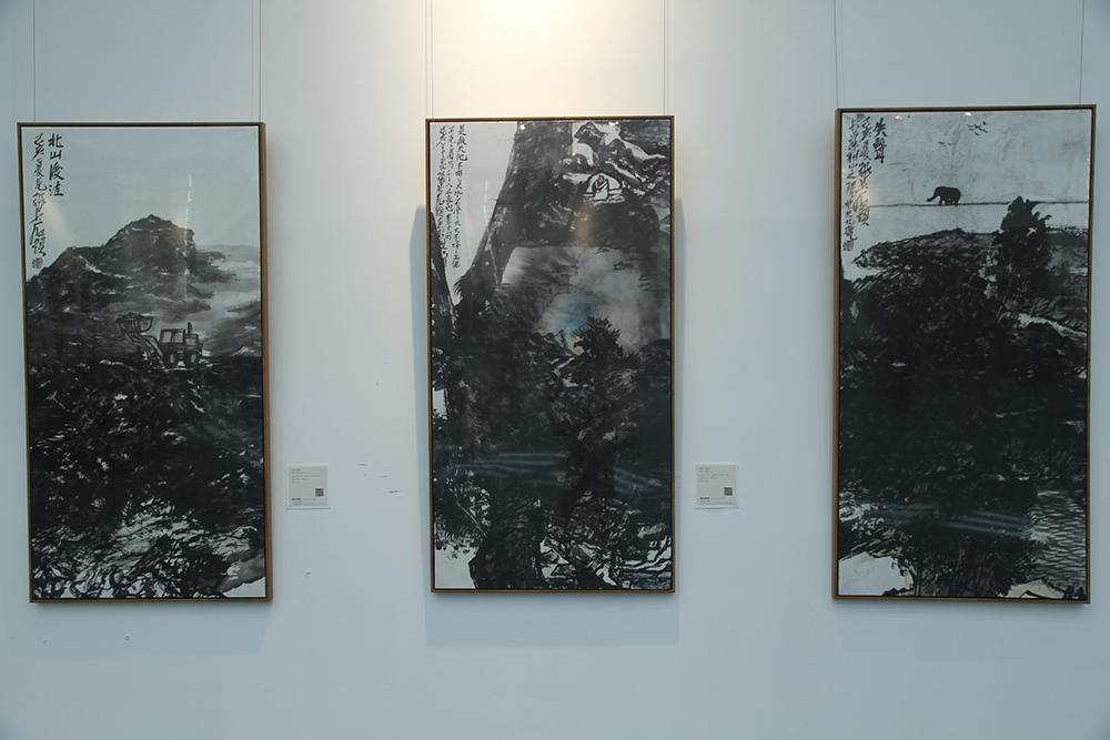 Exhibition of the Landscape Paintings of Zhang Zhimin and Exhibition of the Works of the Mao Hongwei, Zhang Qinzhi and Dong Gang