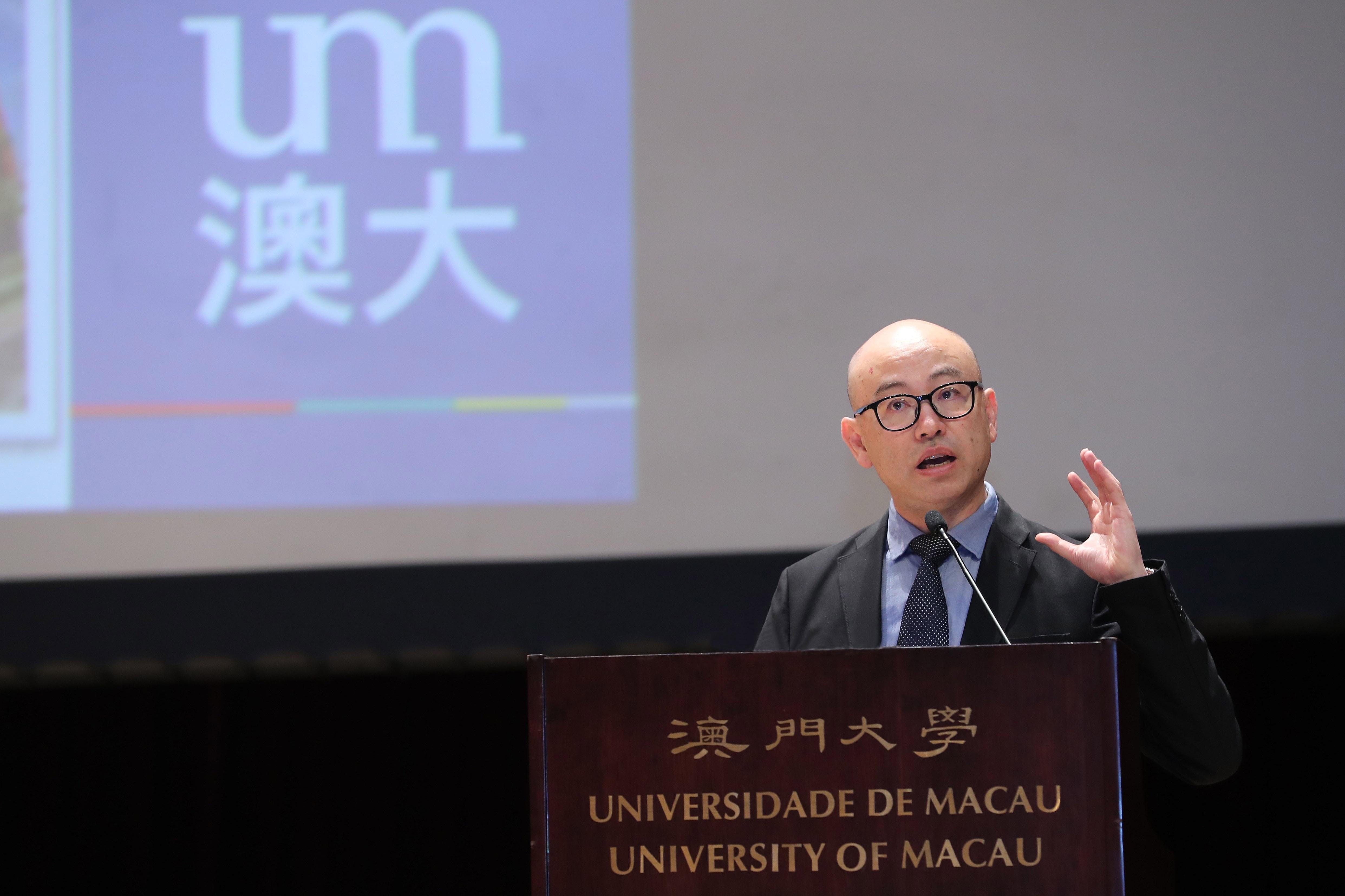 Lam Long Wai talks about the unique competitive advantages of UM's academic programmes