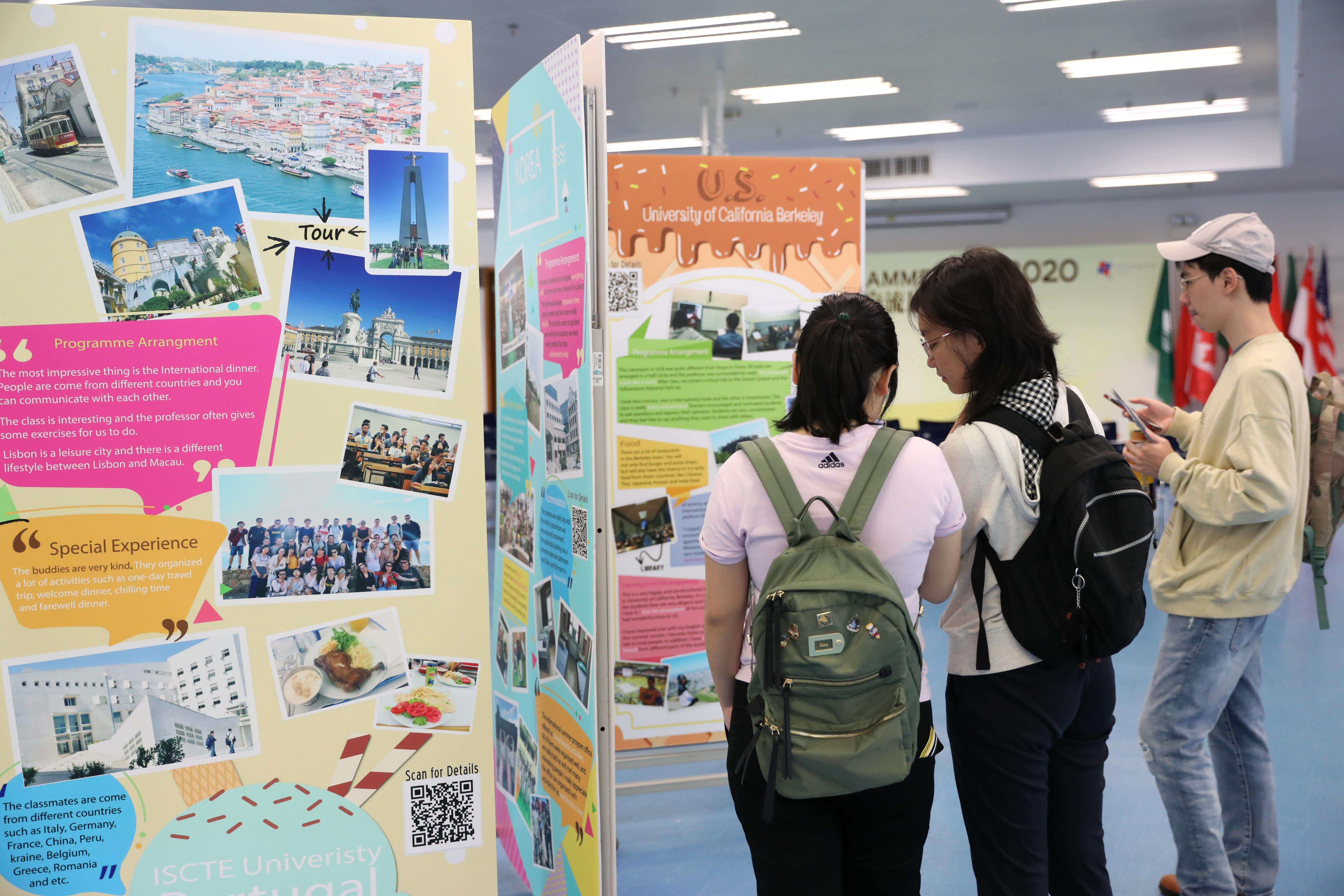 UM's Summer Programme Fair 2020 attracts many students