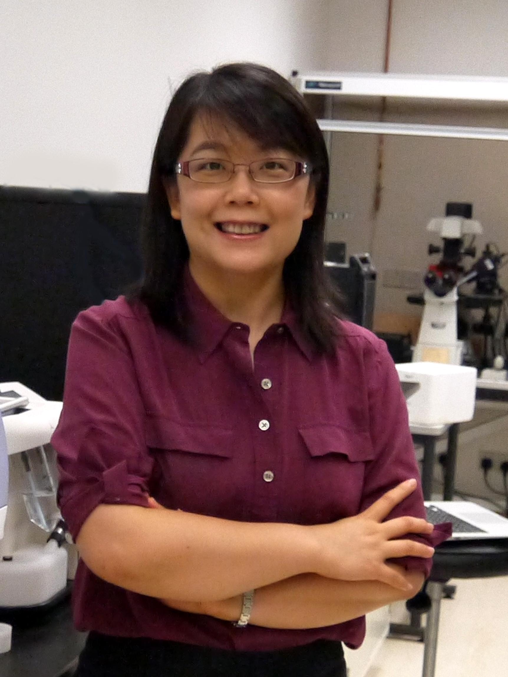 ICMS virology expert Prof Wang Ying