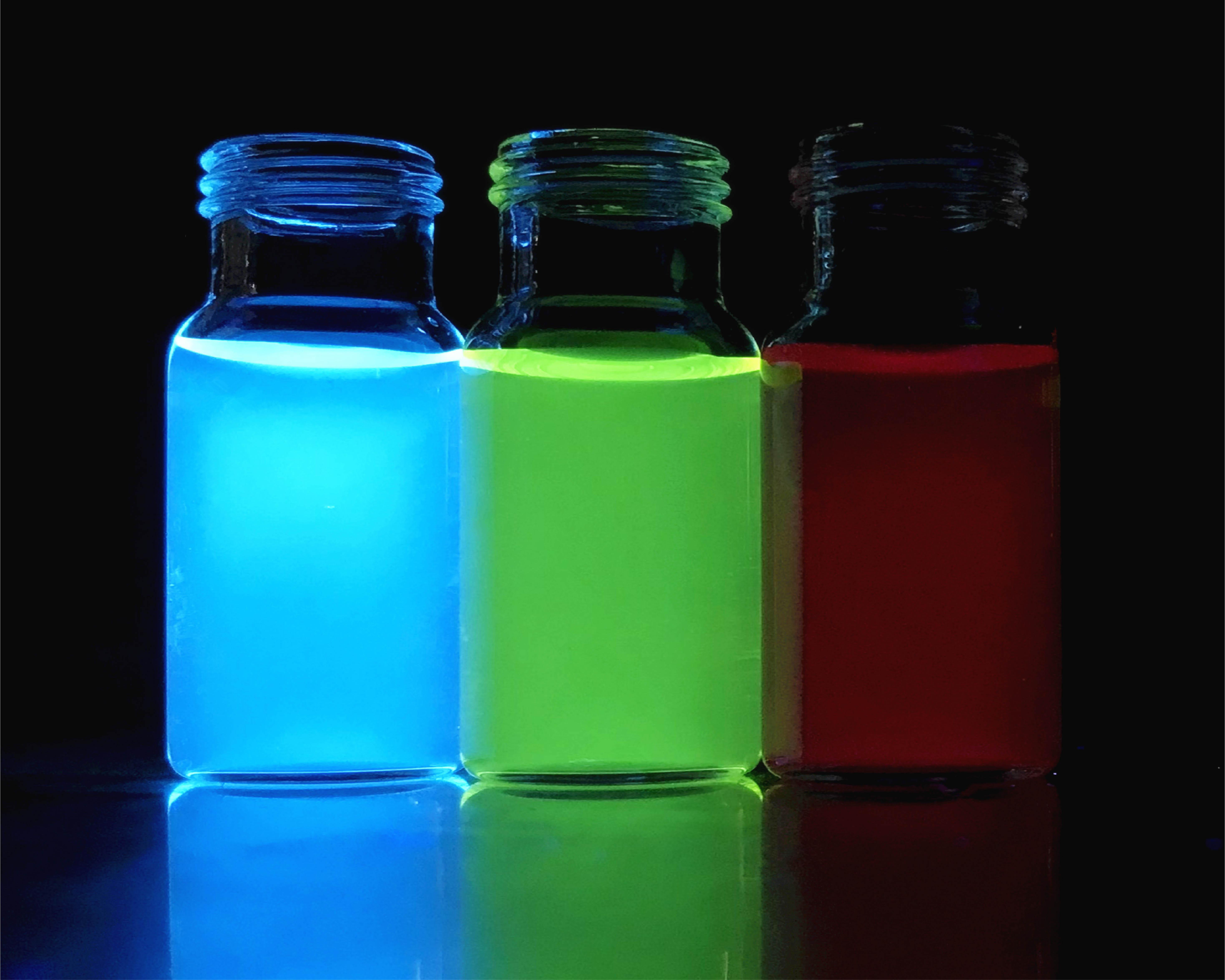 團隊開發的色彩繽紛的熒光工具