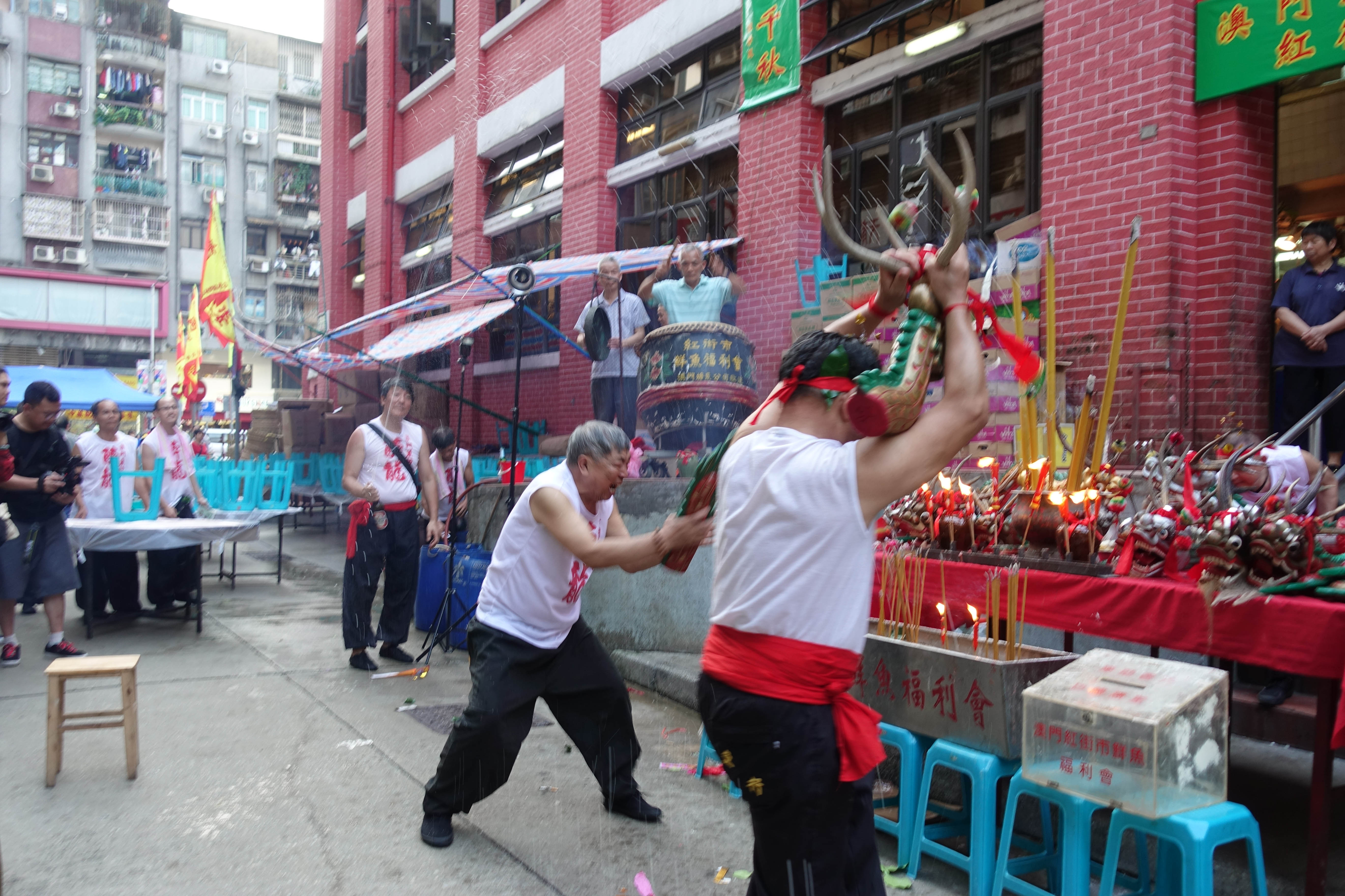 The Festival of Drunken Dragon in Macao is one of the events covered in the study