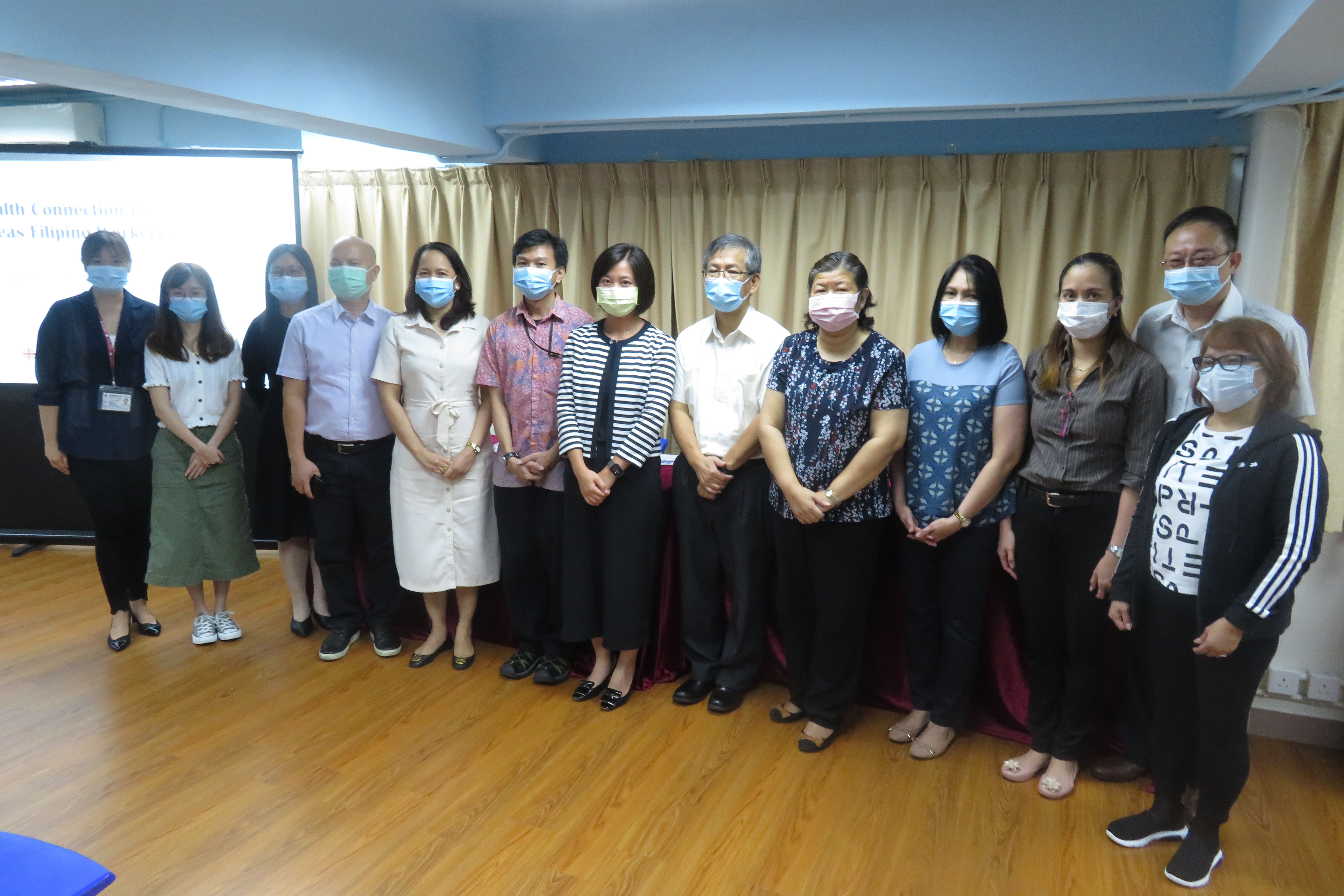 UM and Caritas Macau have launched the Health Connection Project for Overseas Filipino Workers in Macao